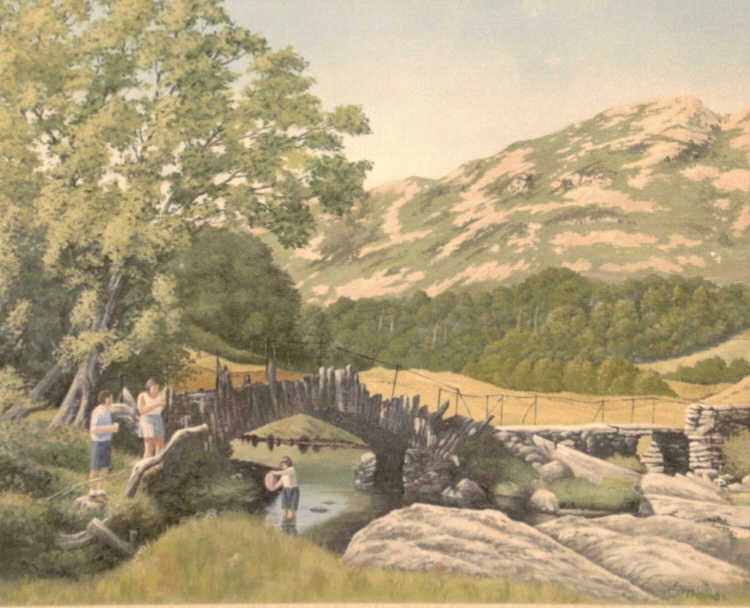 High Summer Little Langdale by Edward Thomas